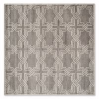 Safavieh Amherst Derry 7-Foot x 7-Foot Indoor/Outdoor Area Rug in Grey