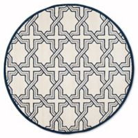 Safavieh Amherst Derry 7-Foot x 7-Foot Indoor/Outdoor Area Rug in Ivory