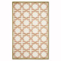 Safavieh Amherst Derry 6-Foot x 9-Foot Indoor/Outdoor Area Rug in Ivory