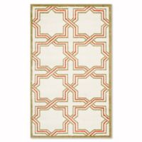 Safavieh Amherst Derry 3-Foot x 5-Foot Indoor/Outdoor Area Rug in Ivory