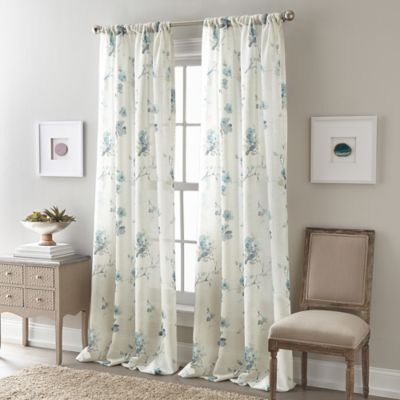 """buy 95"""" sheer curtain from bed bath & beyond"""