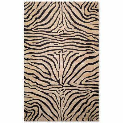 Liora Manne Seville 9 Foot X 12 Foot Zebra Area Rug