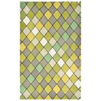 Liora Manne Seville 3-Foot 6-Inch x 5-Foot 6-Inch Accent Rug in Green