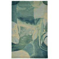 Liora Manne Sonia 3-Foot 6-Inch x 5-Foot 6-Inch Accent Rug in Aqua/Blue