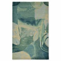 Liora Manne Sonia 5-Foot x 8-Foot Area Rug in Aqua/Blue