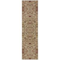 Mohawk Home Symphony 2-Foot 1-Inch x 7-Foot 10-Inch Western Prairie Rug in Ivory