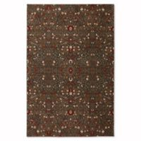 Mohawk Home Symphony 3-Foot 6-Inch x 5-Foot 6-Inch Western Prairie Rug in Saddle