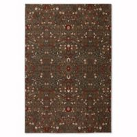 Mohawk Home Symphony 5-Foot 3-Inch x 7-Foot 10-Inch Western Prairie Rug in Saddle