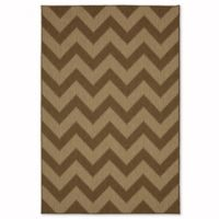 Mohawk Home Oasis Tofino Chevron 5-Foot x 7.5-Foot Indoor/Outdoor Area Rug