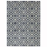 Mohawk Home® 5-Foot 3-Inch x 7-Foot 10-Inch Carved Tiles Area Rug in Denim