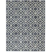 Mohawk Home® 8-Foot x 10-Foot Carved Tiles Area Rug in Denim