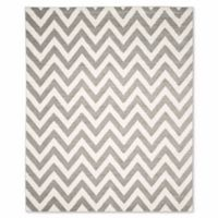 Safavieh Amherst 8-Foot x 10-Foot Chevy Area Rug in Dark Grey