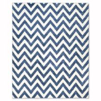 Safavieh Amherst 8-Foot x 10-Foot Chevy Area Rug in Navy