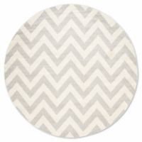 Safavieh Amherst 9-Foot x 9-Foot Chevy Area Rug in Light Grey