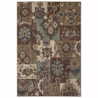 Mohawk Home Studio Nuka 5-Foot 3-Inch x 7-Foot 10-Inch Area Rug in Brown