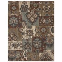 Mohawk Home Studio Nuka 8-Foot x 10-Foot Area Rug in Brown