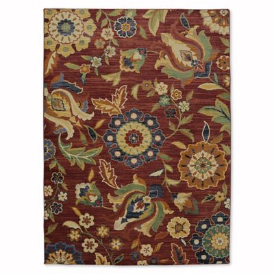 Mohawk® Home Reynolds 8 Foot X 11 Foot Area Rug In Berry
