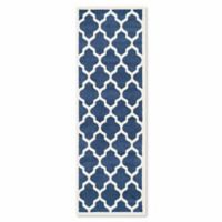 Safavieh Amherst 2-Foot 3-Inch x 9-Foot Whirl Area Rug in Navy