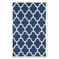 Safavieh Amherst 4-Foot x 6-Foot Whirl Area Rug in Navy