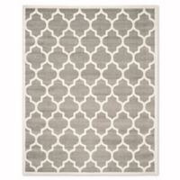 Safavieh Amherst 8-Foot x 10-Foot Whirl Area Rug in Dark Grey
