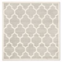 Safavieh Amherst 9-Foot x 9-Foot Whirl Area Rug in Light Grey