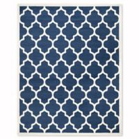 Safavieh Amherst 9-Foot x 12-Foot Whirl Area Rug in Navy