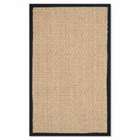 Safavieh Johanna 2-Foot x 3-Foot Accent Rug in Natural/Black