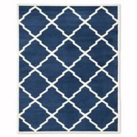 Safavieh Amherst 8-Foot x 10-Foot Festival Area Rug in Navy