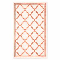 Safavieh Amherst Quine 3-Foot x 5-Foot Indoor/Outdoor Area Rug in Beige