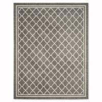 Safavieh Amherst Quine 10-Foot x 14-Foot Indoor/Outdoor Area Rug in Dark Grey