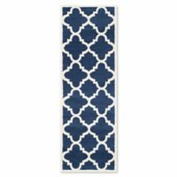 Safavieh Amherst 2-Foot 3-Inch x 11-Foot Geo Area Rug in Navy