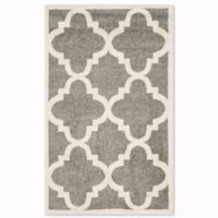 Safavieh Amherst 2-Foot 6-Inch x 4-Foot Geo Area Rug in Dark Grey