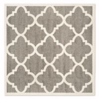 Safavieh Amherst 5-Foot x 5-Foot Geo Area Rug in Dark Grey