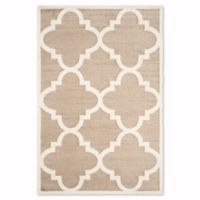 Safavieh Amherst 5-Foot x 8-Foot Geo Area Rug in Wheat