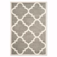 Safavieh Amherst 6-Foot x 9-Foot Geo Area Rug in Dark Grey