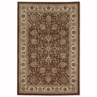 Mohawk Fallon 5-Foot 3-Inch x 7-Foot 10-Inch Area Rug in Brown