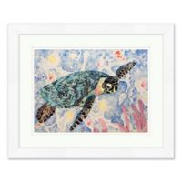 Tropical Turtle 1 Wall Art