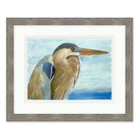Watercolor Egret 1 Framed Wall Art
