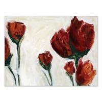 Red Blooms Wall Art