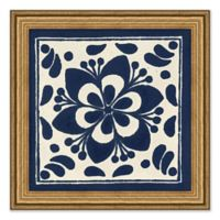 Antique Tile I Framed Wall Art