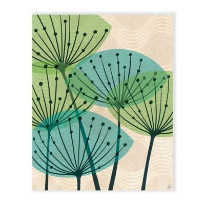 buy teal art from bed bath & beyond
