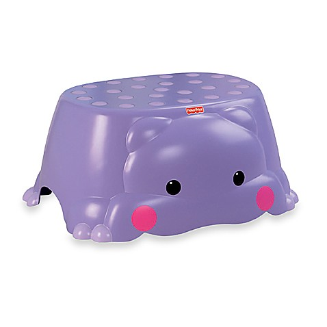 Precious Planet Hop On Hippo Step Stool By Fisher Price