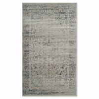 Safavieh Vintage Palace 4-Foot x 5-Foot 7-Inch Area Rug in Light Blue