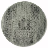 Safavieh Vintage Palace 6-Foot Round Area Rug in Spruce/Ivory