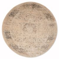 Safavieh Vintage Palace 6-Foot Round Area Rug in Beige