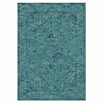 Safavieh Vintage Tiffany 5-Foot 3-Inch x 7-Foot 6-Inch Area Rug in Turquoise