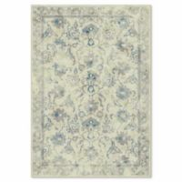 Safavieh Vintage Nara 6-Foot 7-Inch x 9-Foot 2-Inch Area Rug in Stone/Blue