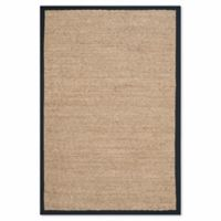 Safavieh Natural Fiber 2-Foot x 3-Foot Mackenzie Accent Rug in Natural/Black