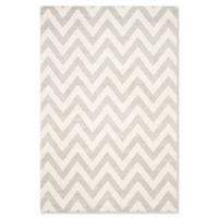 Safavieh Amherst 5-Foot x 8-Foot Chevy Area Rug in Light Grey