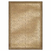 Safavieh Paradise 4-Foot x 5-Foot 7-Inch Animal Area Rug in Brown